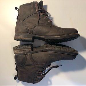 Ugg Men's Nubuck Boots Sz 11